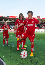 Mascot at Ashton Gate Stadium for the Sky Bet Championship game between Bristol City and Derby County - Mandatory by-line: Paul Knight/JMP - 17/09/2016 - FOOTBALL - Ashton Gate Stadium - Bristol, England - Bristol City v Derby County - Sky Bet Championship