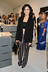 MARINA DIAMANDIS at a private view of Dancing Away featuring work by Mikhail Baryshnikov held at ContiniArtUK, 105 New Bond Street, London on 27th November 2014.