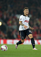 Football - 2016 / 2017 League [EFL] Cup - Fourth Round: Liverpool vs. Tottenham Hotspur<br /> <br /> Kieran Trippier of Tottenham Hotspur during the match at Anfield.<br /> <br /> COLORSPORT/LYNNE CAMERON