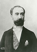'(Marie Francois) Sadi Carnot (1837-1894) French statesman, 4th President of the Third Republic.  Assassinated by the Italian anarchist Sante Geronimo Caserio.'