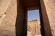Temple of Philae on the River Nile, Aswan, Egypt