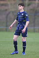 Leeds United Sam Leverett during the U18 Professional Development League match between Coventry City and Leeds United at Alan Higgins Centre, Coventry, United Kingdom on 13 April 2019.