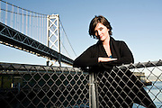 Valerie Casey, founder of the Designers Accord.  Formerly at Ideo, and Frog Design. Photographed in San Francisco in 2008, for Fortune Magazine.