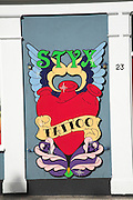 Styx tattoo shop sign, Norwich, Norfolk, England