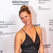 NLD/Amsterdam/20180908 - inloop Gala Het Nationale Ballet 2018, presentatrice Tamara Steur