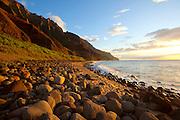 Kalalau Beach,Napali Coast, Kauai, Hawaii