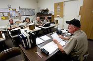 UNITED STATES-SUN CITY- Sun City, a retirement community in Arizona. The Sheriff's Posse. PHOTO: GERRIT DE HEUS .VERENIGDE STATEN-SUN CITY-  Sun City. Vrijwillige politie.  PHOTO GERRIT DE HEUS