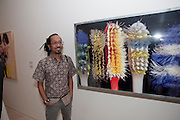 Angki Purbandono, Indonesian Eye Contemporary Art Exhibition Reception, Saatchi Gallery. London. 9 September 2011. <br /> <br />  , -DO NOT ARCHIVE-© Copyright Photograph by Dafydd Jones. 248 Clapham Rd. London SW9 0PZ. Tel 0207 820 0771. www.dafjones.com.
