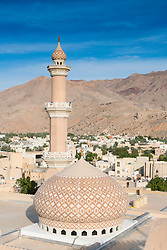 View of Nizwa Mosque in Nizwa Oman