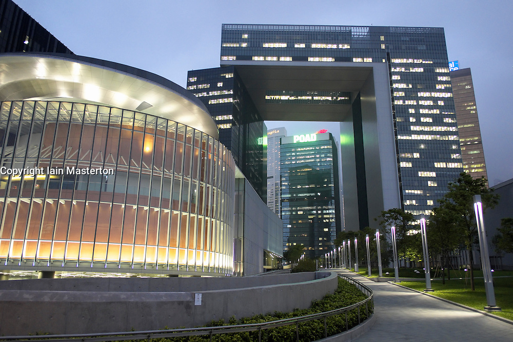 New office buildings for Hong Kong Government civil service in Admiralty Hong Kong