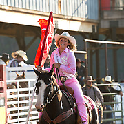 Missoula Rodeo Princess at the Darby Rodeo Association Elite Bull Connection event July 5th 2019.  Photo by Josh Homer/Burning Ember Photography.  Photo credit must be given on all uses.