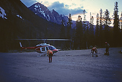 Rescue Of Hikers From Mountain