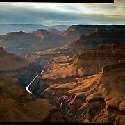Rays of Light from Pima Point, Grand Canyon National Park. 4x5 Kodak Ektar 100. photo by Nathan Lambrecht