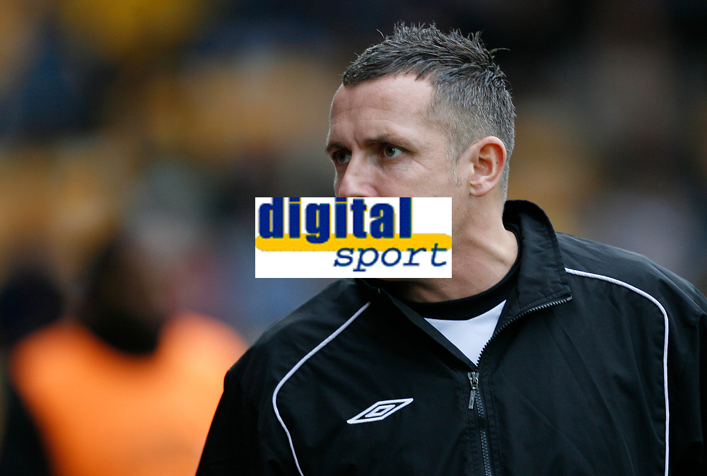 Photo: Steve Bond/Sportsbeat Images.<br />Torquay United v Exeter City. The FA Blue Square Premier. 01/01/2008. Torquay manager Paul Buckle