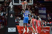 Gabriel Olaseni<br /> Olimpia EA7 Emporio Armani Milano vs Banco di Sardegna Sassari<br /> Basket Serie A 2016/2017<br /> Milano 02/12/2016<br /> Foto Ciamillo-Castoria