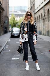 Street style, Veronika Heilbrunner arriving at Ida Klamborn Spring Summer 2017 show held at The Black Box, Regeringsgatan 65, in Stockholm, Sweden, on August 30th, 2016. Photo by Marie-Paola Bertrand-Hillion/ABACAPRESS.COM
