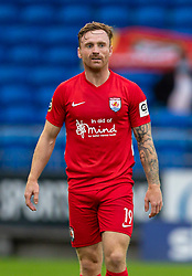 CARDIFF, WALES - Wednesday, August 19, 2020: Connah's Quay Nomads' Craig Curran during the UEFA Champions League First Qualifying Round match between Connah's Quay Nomads FC and FK Sarajevo at the Cardiff City Stadium. FK Sarajevo won 2-0. (Pic by David Rawcliffe/Propaganda)