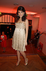 Model KELLY BROOK at the 6th annual Lancome Colour Design Awards in association with CLIC Sargent Cancer Care held at Lindley Hall, Victoria, London on 28th November 2006.<br />
