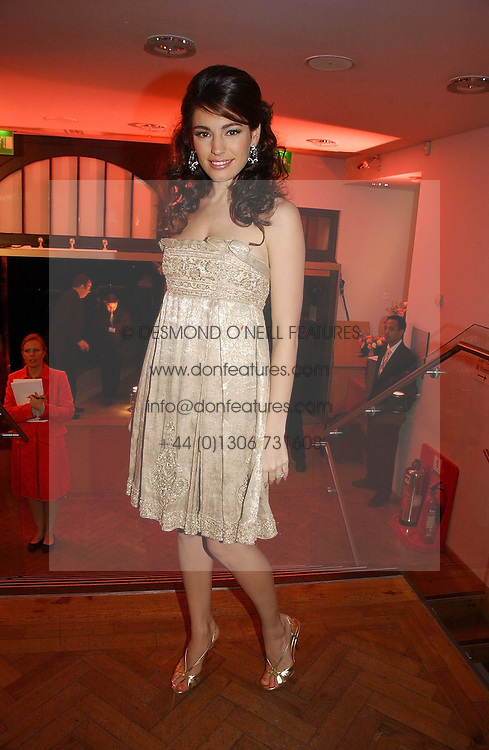 Model KELLY BROOK at the 6th annual Lancome Colour Design Awards in association with CLIC Sargent Cancer Care held at Lindley Hall, Victoria, London on 28th November 2006.<br /><br />NON EXCLUSIVE - WORLD RIGHTS