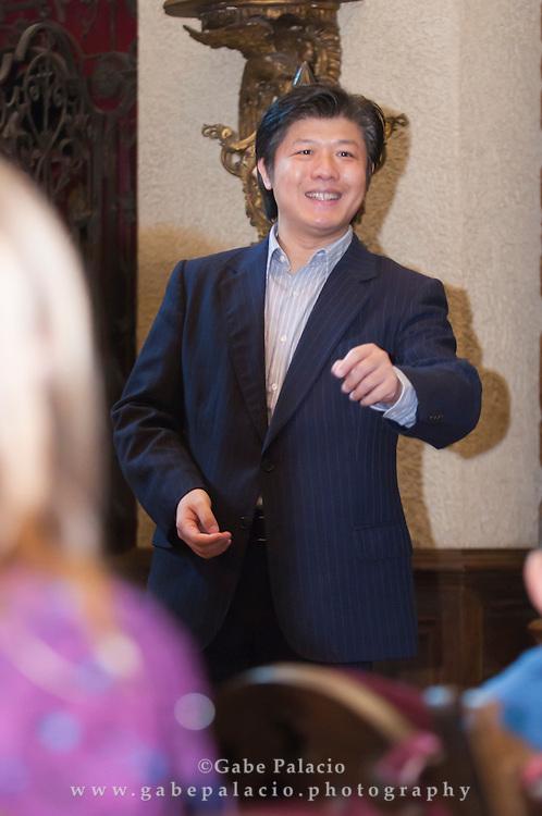 Chinese Art and Cuture education program at Caramoor in Katonah, New York on November 9, 2011..(Photo by Gabe Palacio)