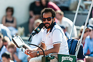 Main referee Ambiance during the Roland Garros French Tennis Open 2018, Preview, on May 21 to 26, 2018, at the Roland Garros Stadium in Paris, France - Photo Pierre Charlier / ProSportsImages / DPPI