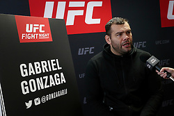 07.04.2016, Zagreb, CRO, UFC Fight Night, Pressekonferenz, im Bild Gabriel Gonzaga // Fighters during the press conference before UFC Fight Night at Zagreb, Croatia on 2016/04/07. EXPA Pictures © 2016, PhotoCredit: EXPA/ Pixsell/ Dalibor Urukalovic<br /> <br /> *****ATTENTION - for AUT, SLO, SUI, SWE, ITA, FRA only*****