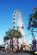 Visitors at the Orange County Fair