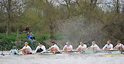 Putney- Mortlake, LONDON, GREAT BRITAIN,  Cambridges' right to left; Bow. David NELSON, 2. Moritz SCHRAMM, 3. Jack LINDEMAN, 4. Alex ROSS , 5.Michael THORP, 6. Steve DUDEK, 7 Alexander SCHARP, Stk. Niles GARRETT . Cox. Ed BOSSON 2012 Boat Race, Oxford University vs Cambridge University. racing over the championship course. Putney/Mortlake, Saturday  07/04/2012  [Mandatory Credit, Peter Spurrier/Intersport-images]..Crews:.OUBC. Bow Dr. Alexander WOODS, 2. William ZENG, 3. Kevin BAUM, 4. Alex DAVIDSON,5. Karl HUDSPITH, 6. Dr. Hanno WIENHAUSEN, 7. Dan HARVEY, Stk. Roel HAEN, Cox. Zoe DE TOLEDO...CUBC. Bow. David NELSON, 2. Moritz SCHRAMM, 3. Jack LINDEMAN, 4. Alex ROSS , 5.Michael THORP, 6. Steve DUDEK, 7 Alexander SCHARP, Stk. Niles GARRETT . Cox. Ed BOSSON .