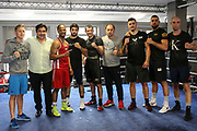 Boxen: EC Boxing, Hamburg, 28.06.0219<br /> Gruppenfoto<br /> © Torsten Helmke