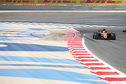 April 14, 2017 - Sakhir, Bahrain - Motorsports: FIA Formula One World Championship 2017, Grand Prix of Bahrain, .#27 Nico Hulkenberg (GER, Renault Sport F1 Team), #9 Marcus Ericsson (SWE, Sauber F1 Team) (Credit Image: © Hoch Zwei via ZUMA Wire)