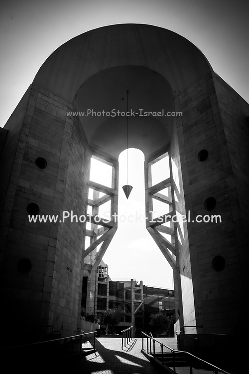 Abstract Architecture in black and white. Photographed at the Israel Opera Tel Aviv