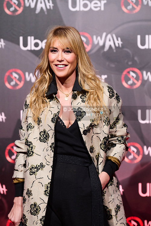 Raquel Merono attends 'Wah' Musical Show World Premiere Red Carpet at IFEMA on October 7, 2021 in Madrid, Spain