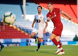 BLACKBURN, ENGLAND - Thursday, July 19, 2018: Liverpool's James Milner sees his penalty kick saved during a preseason friendly match between Blackburn Rovers FC and Liverpool FC at Ewood Park. (Pic by David Rawcliffe/Propaganda)