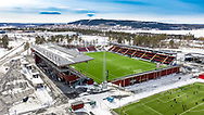 JÄMTKRAFT ARENA 2020-04-05<br /> Bilder på Jämtkraft Arena dagen för den planerade premiären i Allsvenskan. På planen har det nyss varit match mellan IFK Östersund och OPE IF damlag. Allsvenskan är uppskjuten. <br /> <br /> Foto: Per Danielsson/Projekt.P<br /> Spridningstillstånd: LM2020/007425