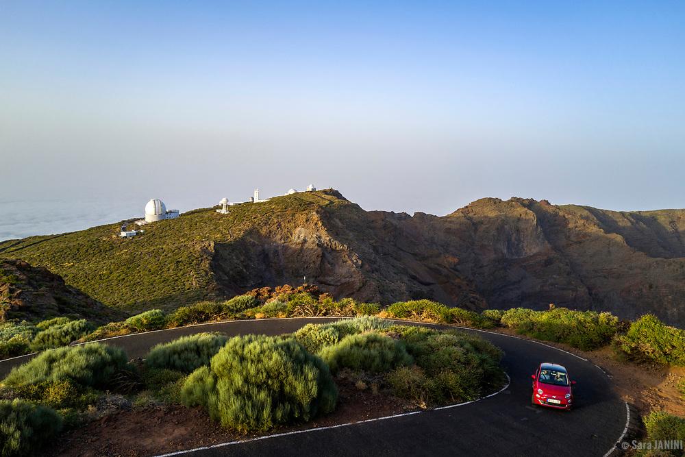 Observatorio Astrofísico Roque de Los Muchachos, La Palma, Canarias, España, Europa