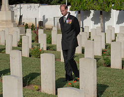 The Earl of Wessex visits Commonwealth War Graves in Accra, Ghana, on day three of the royal couple's trip to west Africa.