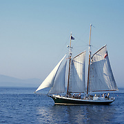 Schooner off the Coast of Maine