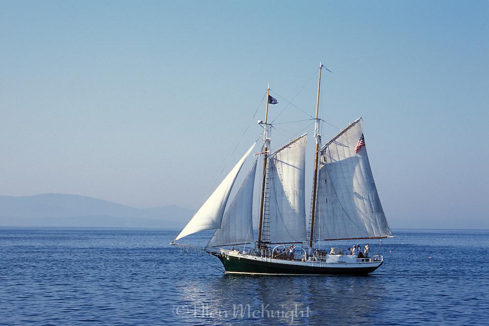 Schooner off the Coast of Maine