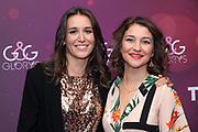 SRF-Moderatorin Bigna Silberschmidt (li.) anlässlich der Glory-Verleihung 2018 am 12. Januar 2019 im Aura Club Zürich