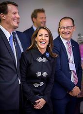 Prince Joachim and Princess Marie participate at Centenary of World war ending - 10 Nov 2018