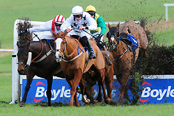 All The Chimneys and jockey David Mullins go on to win the Join Us Here Again February 21st Handicap Chase at Thurles Racecourse.