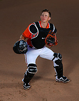 Baltimore Orioles Adley Rutchman poses for a portrait  on October 13,2020.<br /> <br /> ( Photo/Tom DiPace)