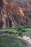 Colorado River from the end of the South Kaibab Trail, Grand Canyon National Park, Arizona.