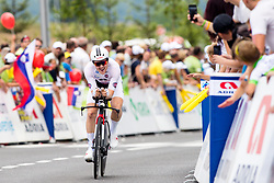 Michael Storer of Sunweb during 5th Time Trial Stage of 25th Tour de Slovenie 2018 cycling race between Trebnje and Novo mesto (25,5 km), on June 17, 2018 in  Slovenia. Photo by Matic Klansek Velej / Sportida
