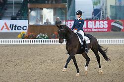 Gevers Katja, (NED), Thriller<br /> CDI3* Grand Prix <br /> Royal Windsor Horse Show - Windsor 2015<br /> © Hippo Foto - Jon Stroud