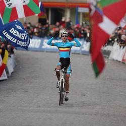 HUYBERGEN (NED) veldrijden <br />WK 2008-2009<br />Worldchampion Niels Albert