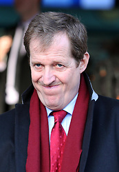 Alistair Campbell leaving the QEII conference centre in London following the publication of The Leveson Inquiry report , Thursday, 29th November 2012. .Photo by:  Stephen Lock /  i-Images
