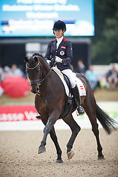 Dearing Stephanie, (AUT), Auheim's Riano<br /> First Qualifier 6 years old horses<br /> World Championship Young Dressage Horses - Verden 2015<br /> © Hippo Foto - Dirk Caremans<br /> 07/08/15