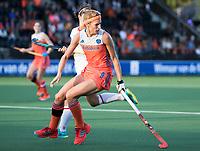 AMSTELVEEN - Carlien Dirkse van den Heuvel (Ned)  de Nederland - Spanje (dames) bij de Rabo EuroHockey Championships 2017.  COPYRIGHT KOEN SUYK