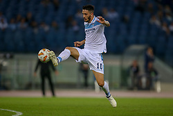 September 20, 2018 - Rome, Lazio, Italy - 20th September 2018, Stadio Olimpico, Rome, Italy; UEFA Europa League football, Lazio versus Apollon Limassol; Luis Alberto of Lazio controls the ball  Credit: Giampiero Sposito/Pacific Press (Credit Image: © Giampiero Sposito/Pacific Press via ZUMA Wire)